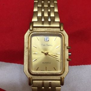 Pierre Cardin vintage diamond watch
